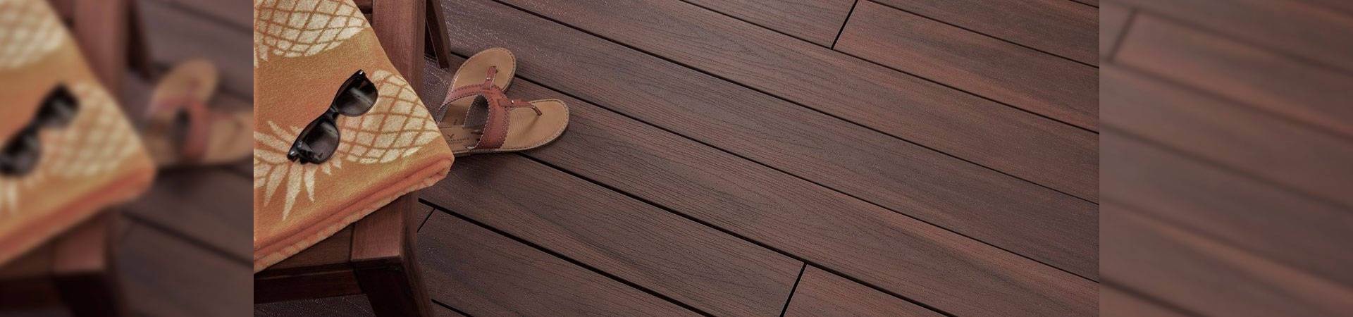 deck ecológico co-extruded a